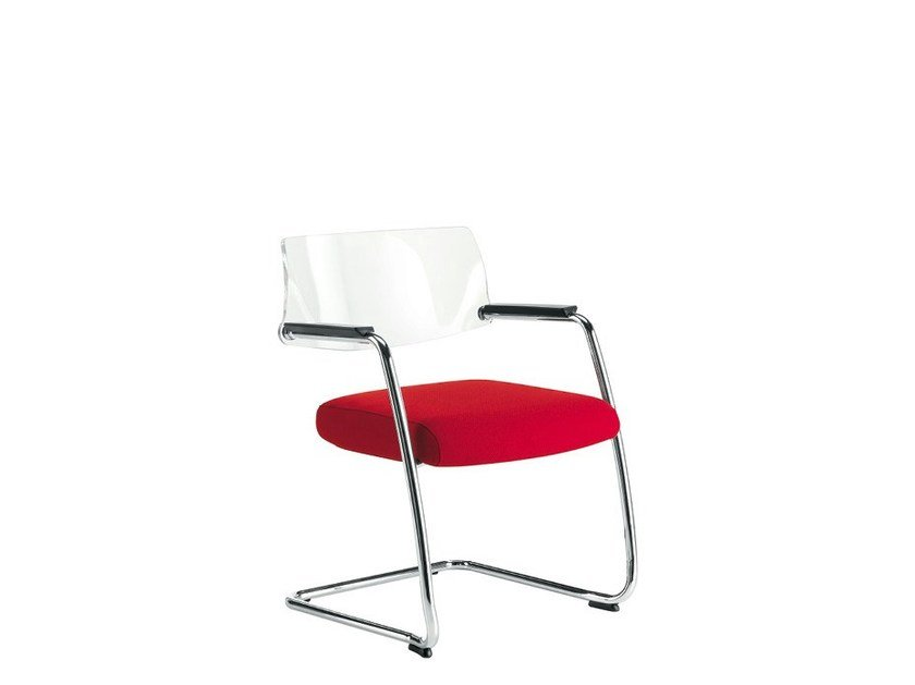 Cantilever reception chair BIG   Cantilever chair by Sesta
