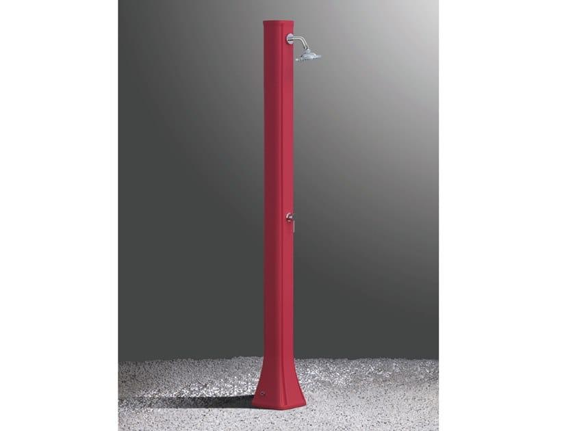 Solar polyethylene outdoor shower BIG HAPPY H300 by ARKEMA DESIGN