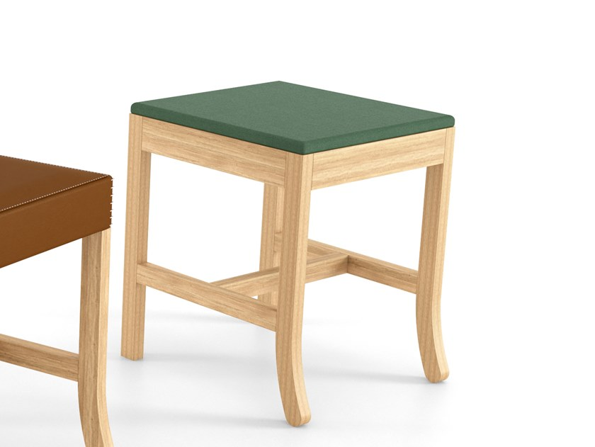 Solid wood stool BIG JIM   Low stool by ESTEL GROUP