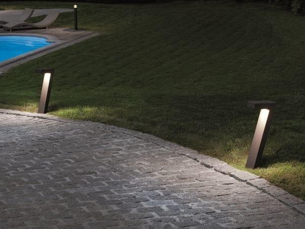 LED metal bollard light BIG SEVEN by BEL-LIGHTING
