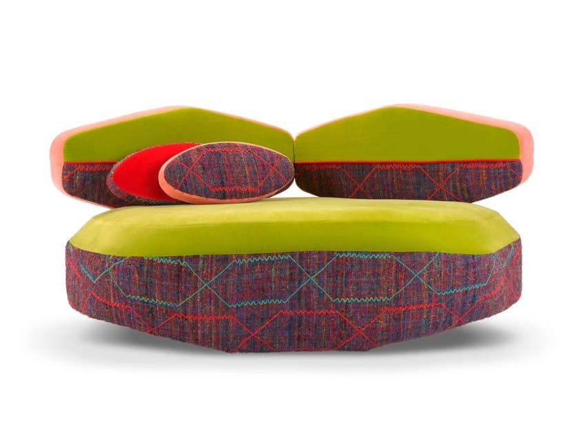 Corner sectional fabric sofa BIG SOFA | Corner sofa by Adrenalina