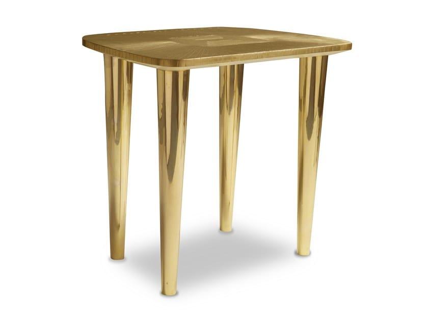 Lacquered stool BIJOU ORO by Scarlet Splendour