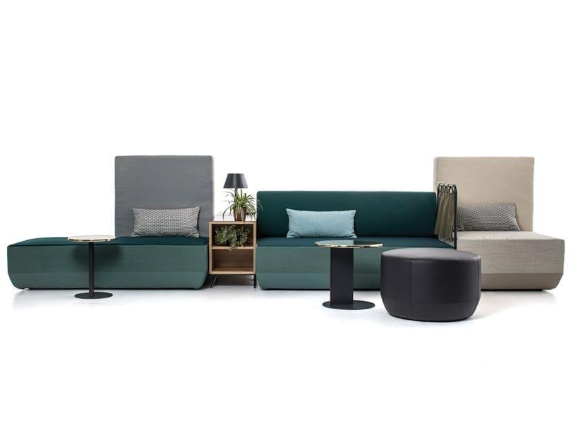 Sectional modular sofa BIKINI ISLAND | Sofa by Moroso