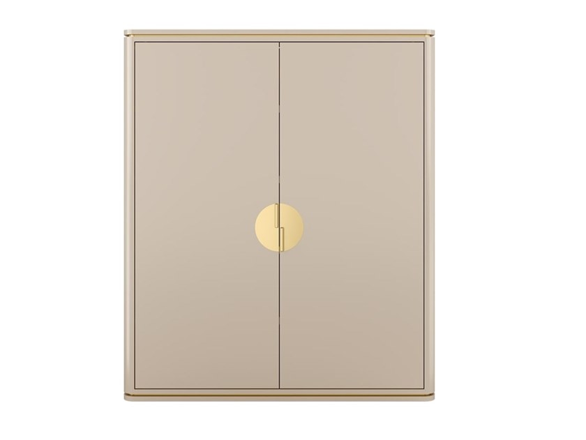 Wooden cabinet with doors BILBAO   Highboard by FRATO