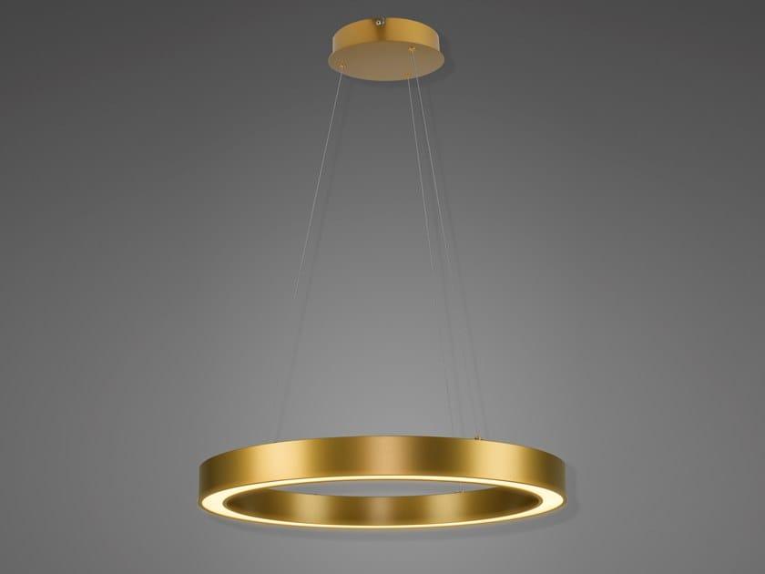 Lampada a sospensione a LED in alluminio BILLIONS NO. 4 by Altavola Design