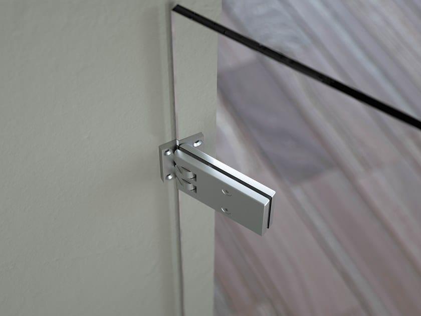 Steel Shower door hinge BILOBINA CENTRALE by Colcom Group