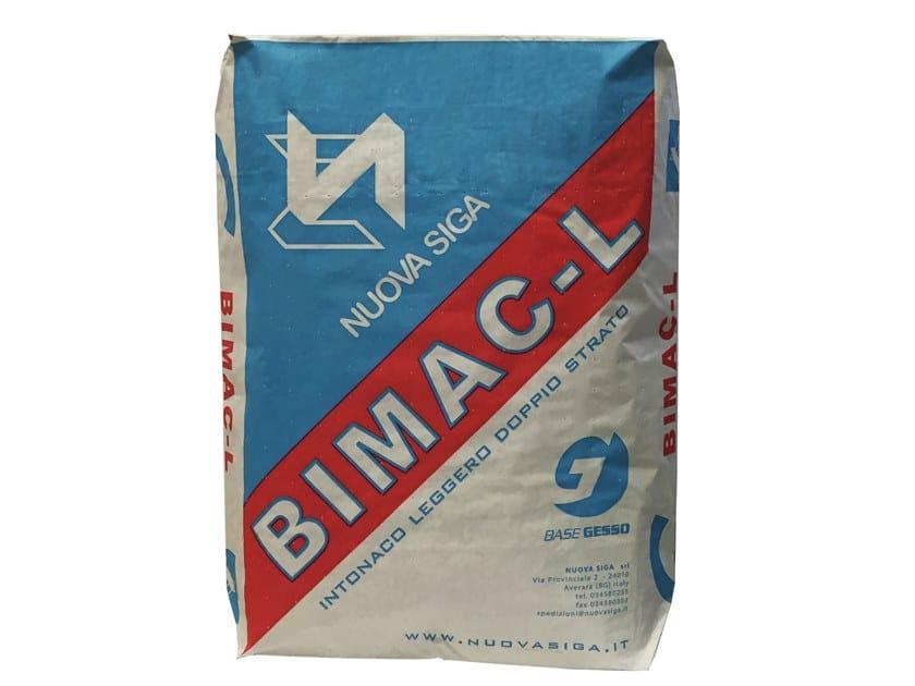 Gypsum plaster BIMAC-L by NUOVA SIGA