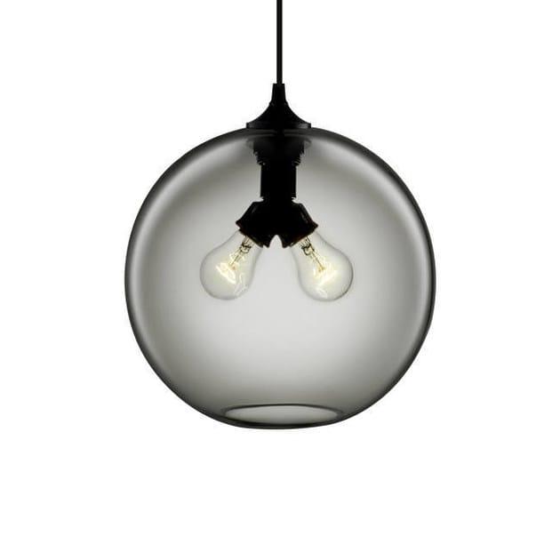 Soffiato Niche Modern Mano Vetro In Led Fatta Binary Sospensione A Lampada HIE9DW2