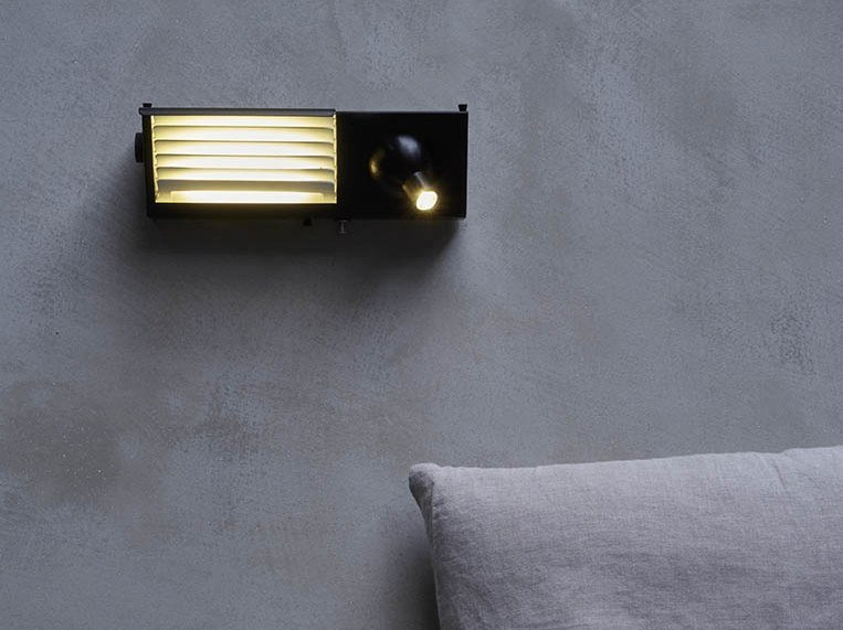LED adjustable wall lamp BINY BEDSIDE by DCW éditions