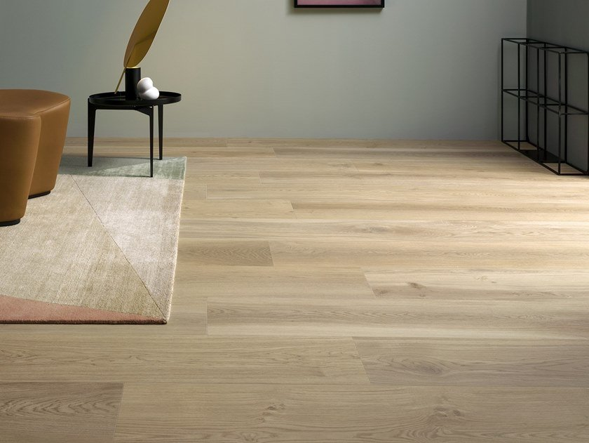 Porcelain stoneware wall/floor tiles with wood effect BIO SELECT OAK GINGER by LEA CERAMICHE