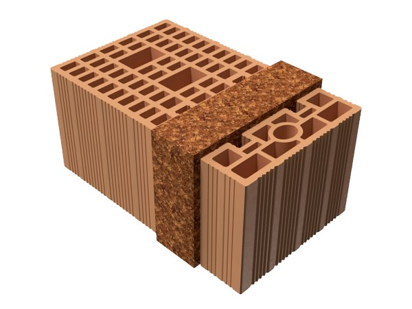 Thermal insulating clay block BIO TRIS® 41X25X19 by T2D
