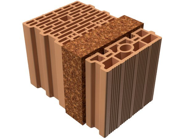 Thermal insulating clay block BIO TRIS® 37X25X25 by T2D