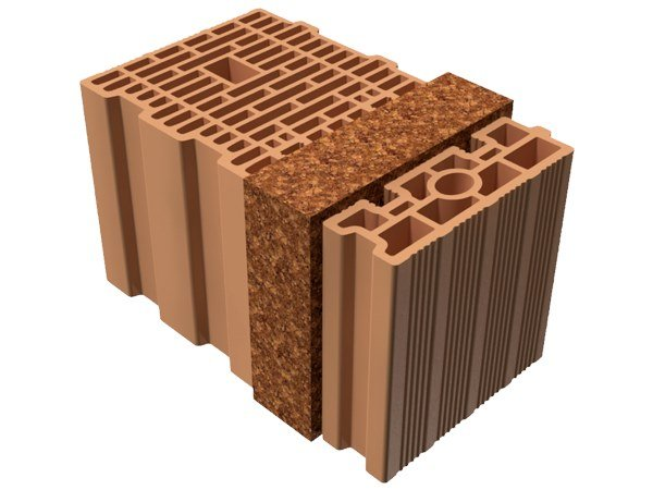 Thermal insulating clay block BIO TRIS® 42X25X25 by T2D