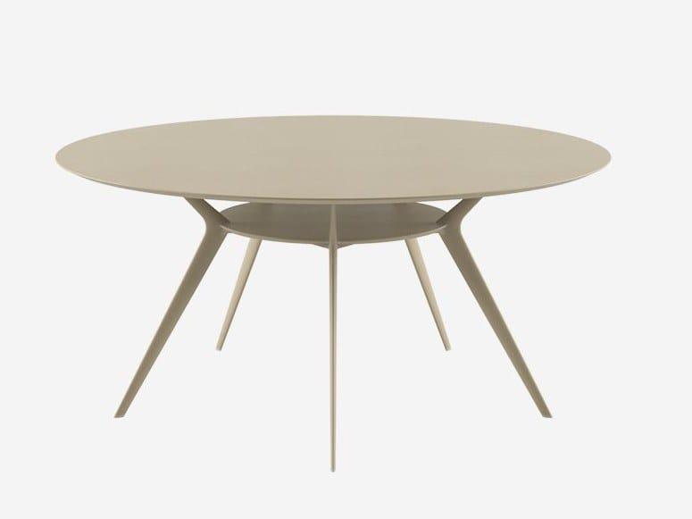 Runder Tisch aus MDF BIPLANE Ø154 / 40A by Alias