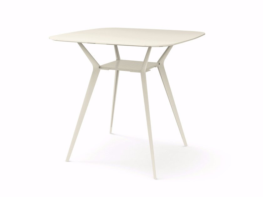Square high table BIPLANE 120X120 HIGH - 454 by Alias