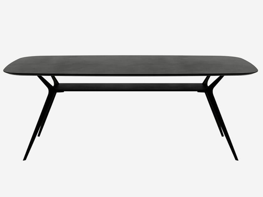 Rechteckiger Tisch aus MDF BIPLANE 200X105 / 40D by Alias