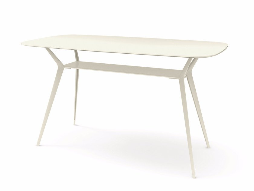 Rectangular high table BIPLANE 200X105 HIGH - 487 by Alias