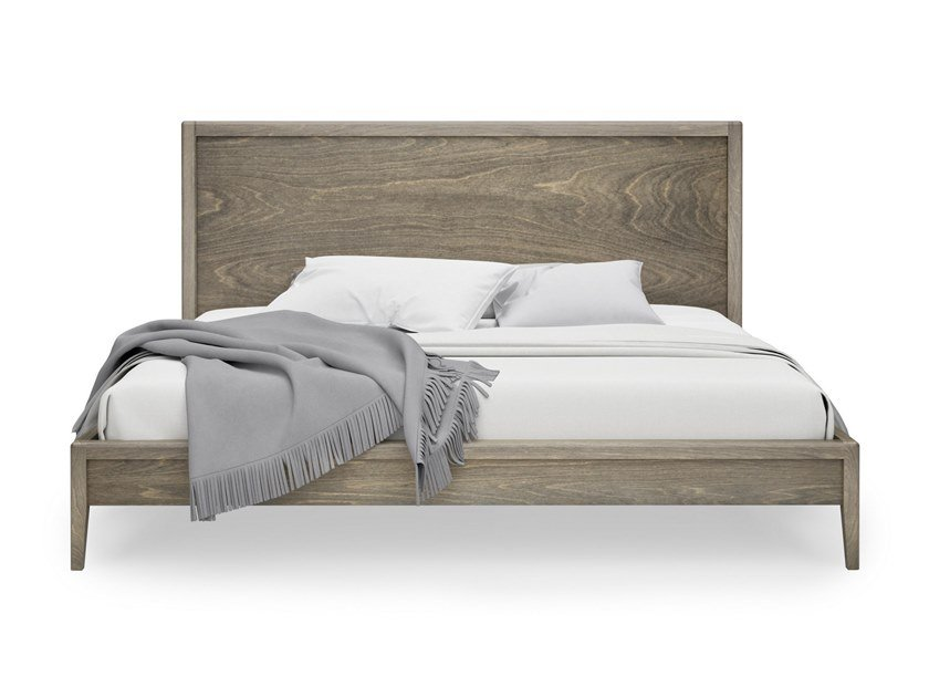 Birch bed double bed EDMOND   Birch bed by Huppé