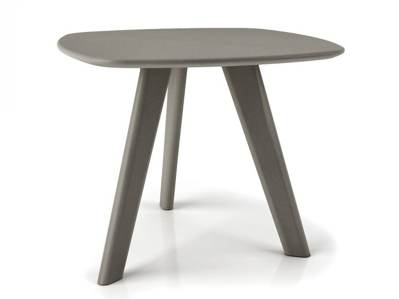 Lacquered square birch coffee table STUDIO   Birch coffee table by Huppé