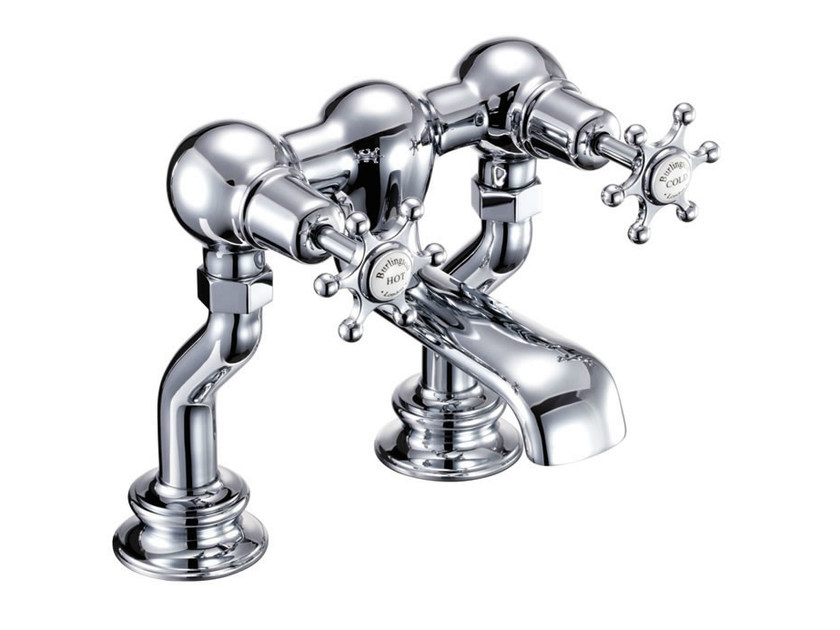 Chrome-plated chromed brass bathtub tap with aerator BIRKENHEAD REGENT | Chromed brass bathtub tap by Polo