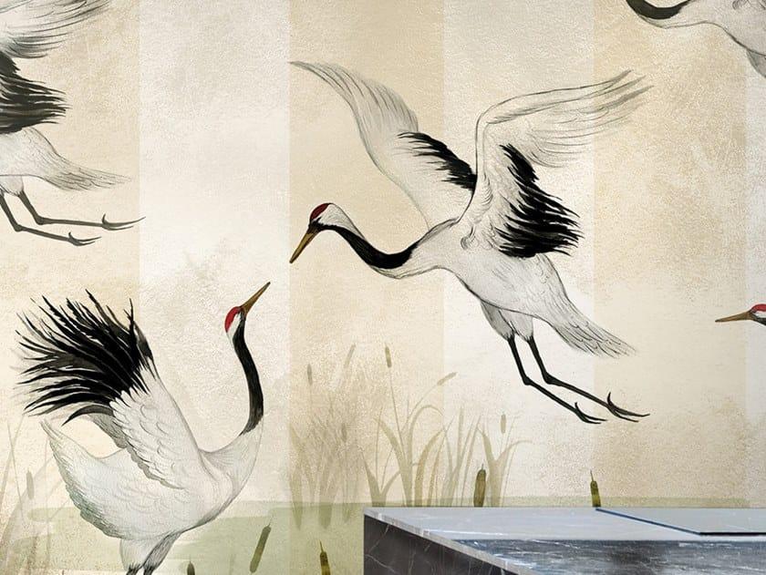 Papel de parede ecológico lavável livre de PVC BISOUS by Wallpepper Group