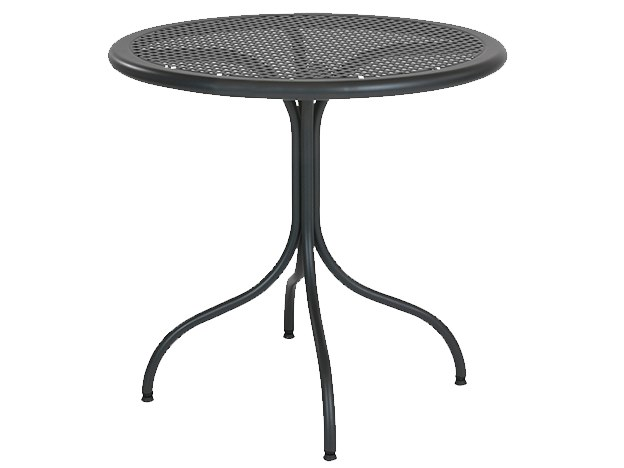 Round galvanized steel table BISTROT | Round table by RD Italia
