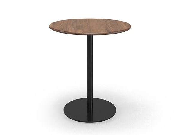 Round walnut high table BISTRÔ | Walnut table by Wewood