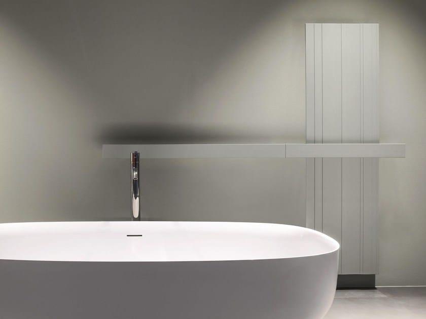 Vertical extruded aluminium decorative radiator BITLIGHT | Vertical decorative radiator by Antonio Lupi Design