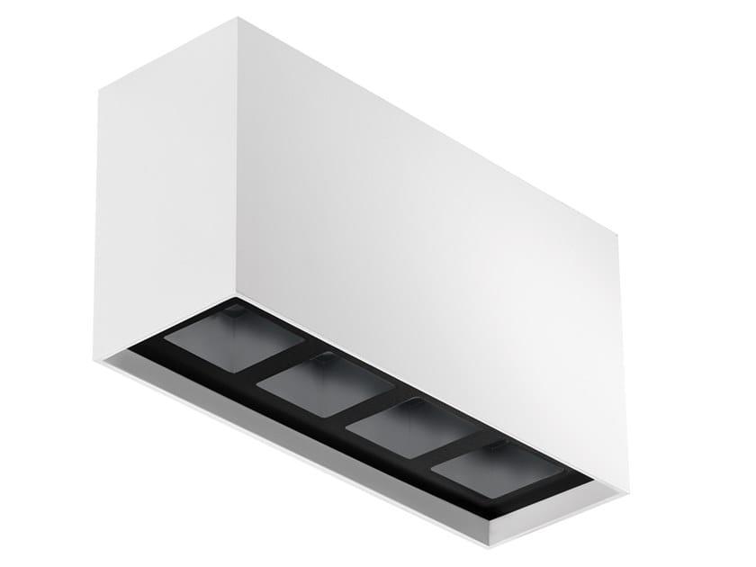 Lampada da soffitto a LED in alluminio Bitpop C 4.1 by L&L Luce&Light
