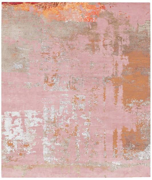 Handmade rectangular rug BJORKA BODUM by HENZEL STUDIO
