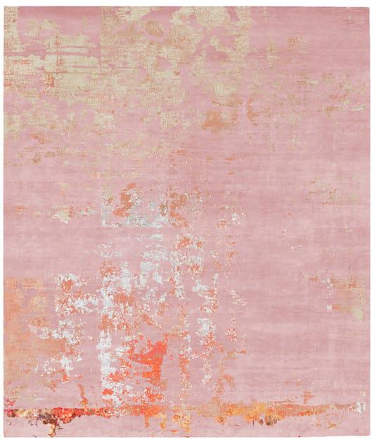 Handmade rectangular rug BJORKLOVEN by HENZEL STUDIO