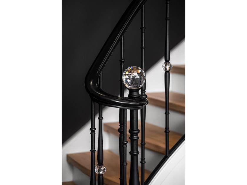Steel balustrade BLACK DIAMOND by Grande Forge