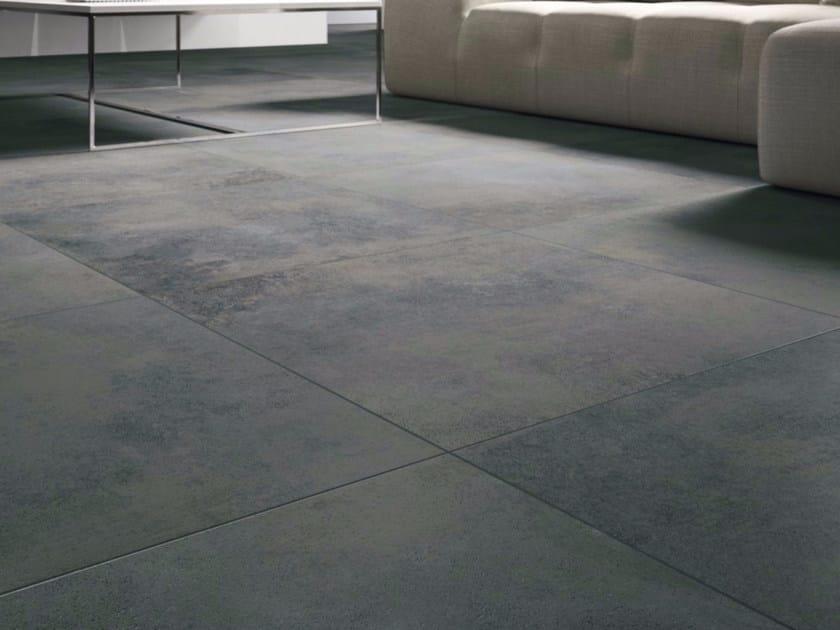 Porcelain stoneware flooring BLACK by GranitiFiandre