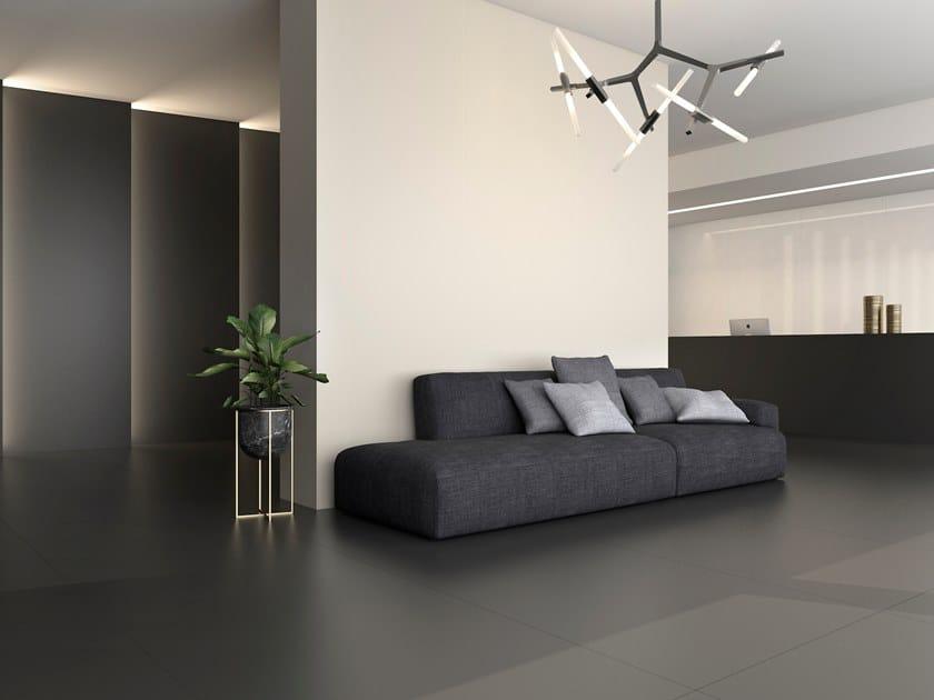 Sintered ceramic wall/floor tiles BLACK SILK, GREY SILK & WHITE SILK by ITT Ceramic