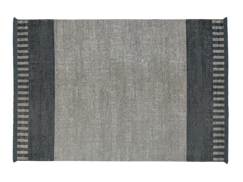 Rectangular rug BLACK & WHITE by Gruppo Tomasella