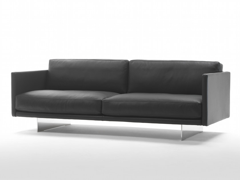 3 seater leather sofa BLADE | 3 seater sofa by Marelli