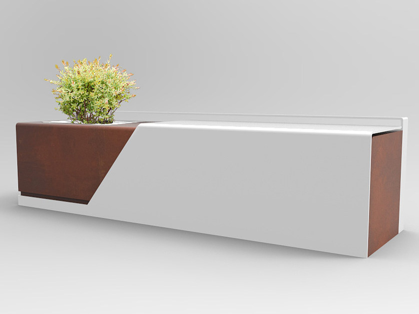 Bench with Integrated Planter BLANKET by CITYSì