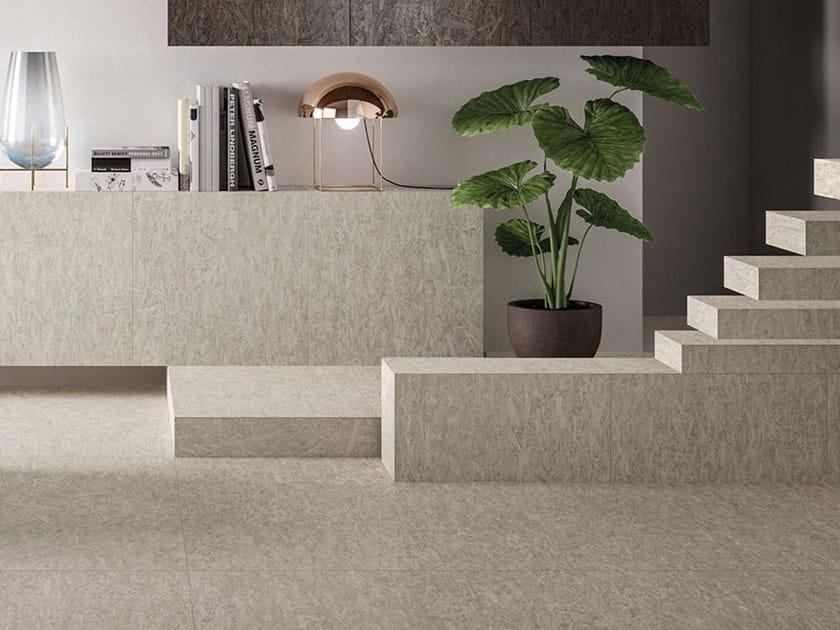 Porcelain stoneware wall/floor tiles with wood effect BLEECKER GREY ...
