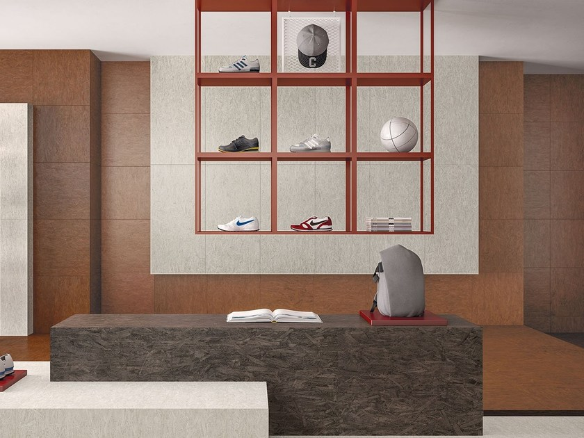 Porcelain stoneware wall/floor tiles with wood effect BLEECKER MAPLE by Marca Corona