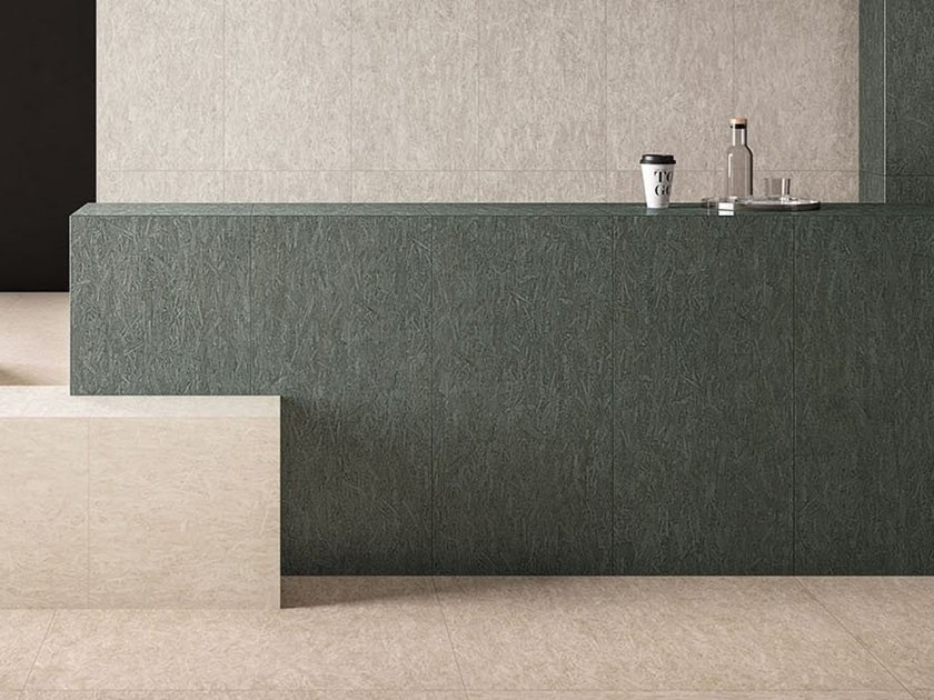 Porcelain stoneware wall/floor tiles with wood effect BLEECKER SAGE by Marca Corona