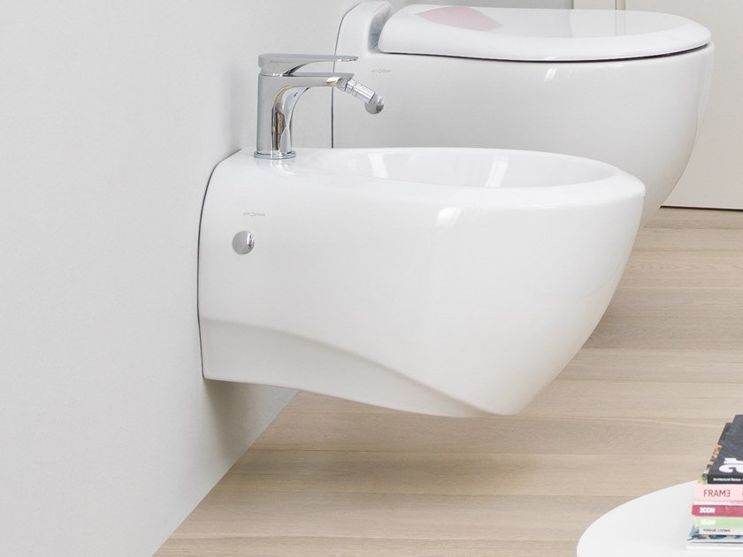 Wall-hung ceramic bidet BLEND | Wall-hung bidet by Artceram