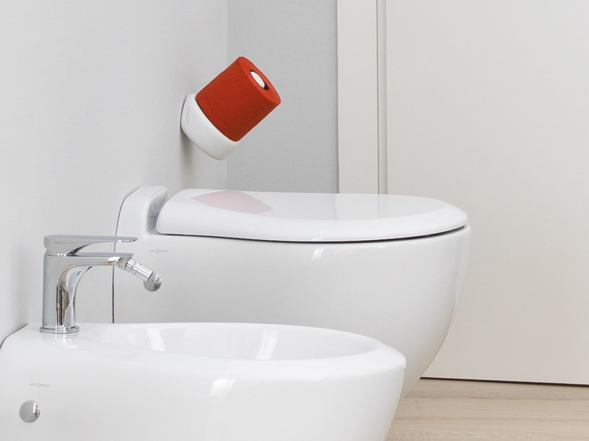 WC suspendu en céramique BLEND | WC suspendu by Artceram