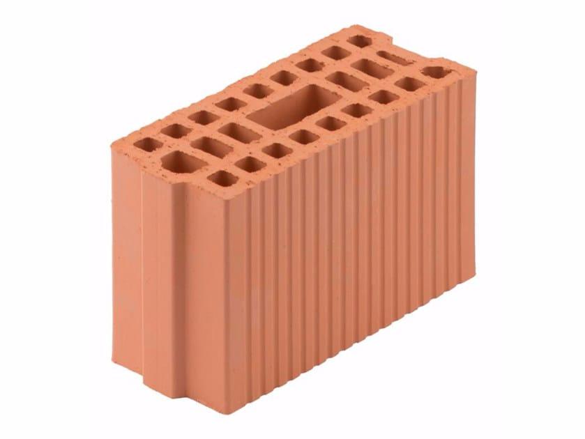 Loadbearing clay block for reinforced masonry Block 12,5-29/19 by Wienerberger
