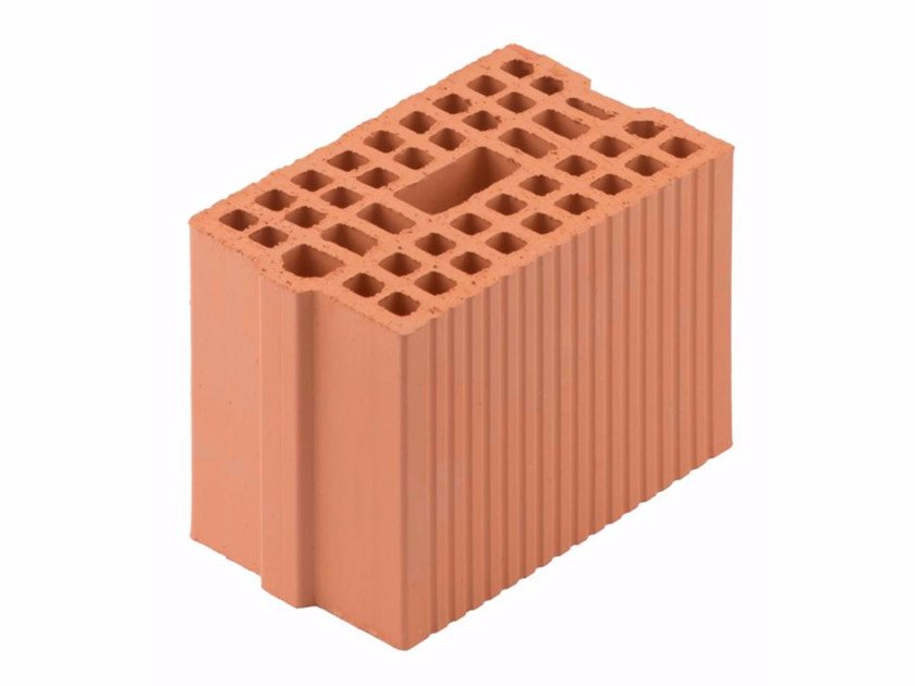 Loadbearing clay block for reinforced masonry Blocks 17,5-29/19 by Wienerberger