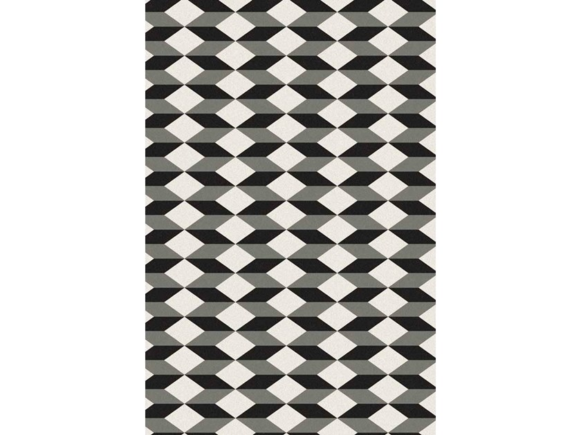 Broadloom printed carpet BLOCK by Miyabi casa