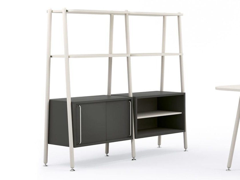 Open freestanding office shelving BLOG | Office shelving by Sesta