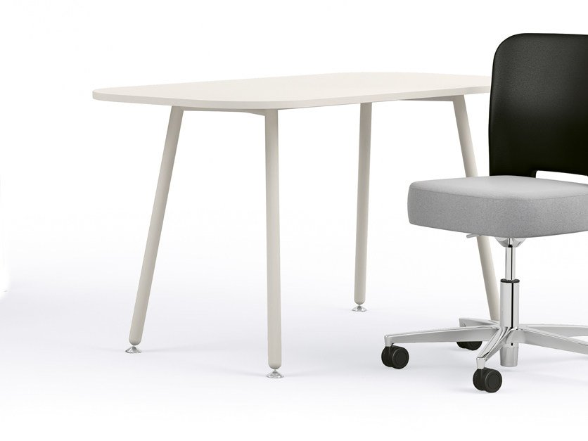 Rectangular meeting table BLOG | Meeting table by Sesta
