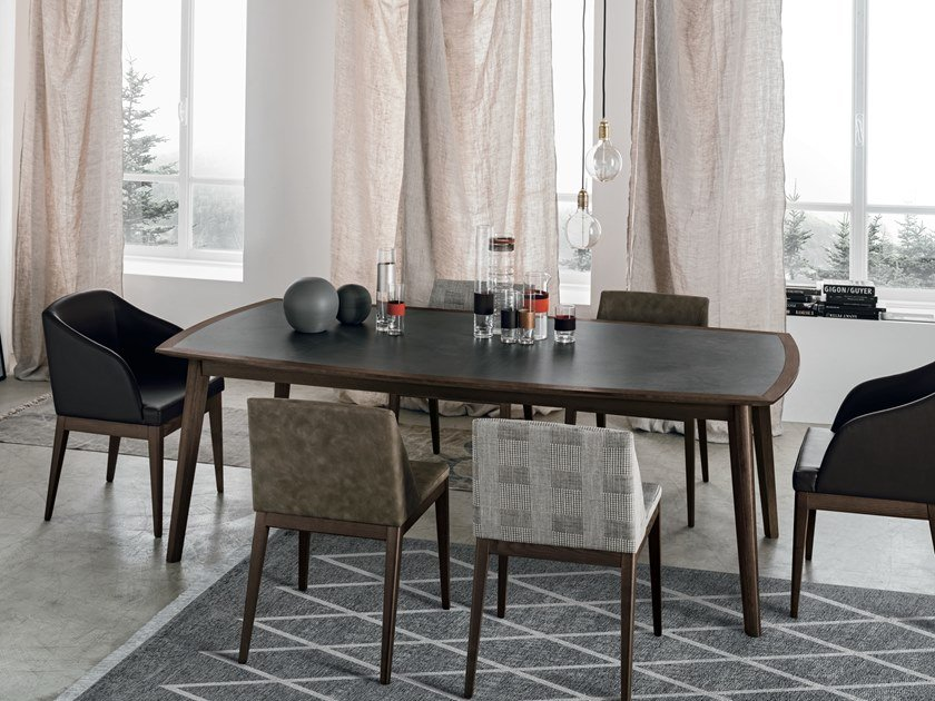 Porcelain stoneware table BLOOM   Porcelain stoneware table by Gruppo Tomasella