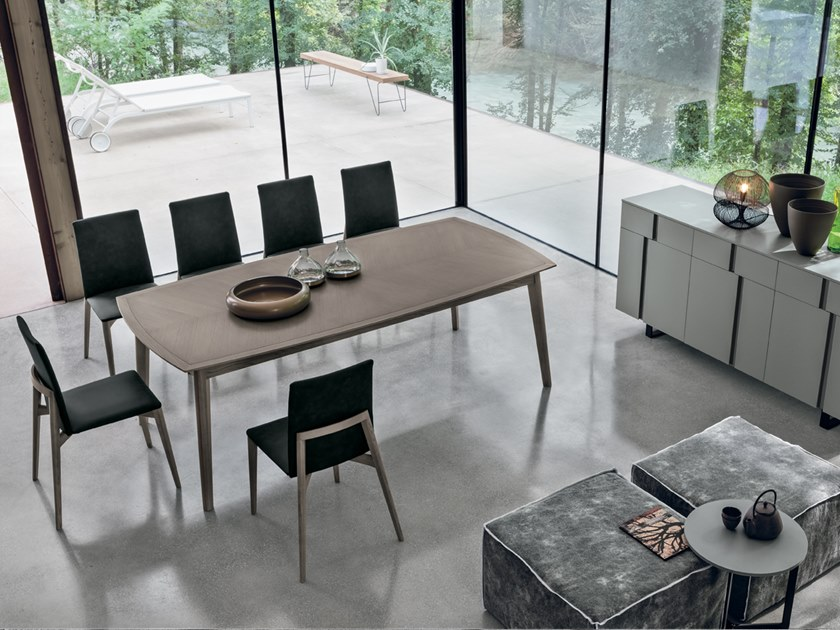 Rectangular table BLOOM   Rectangular table by Gruppo Tomasella