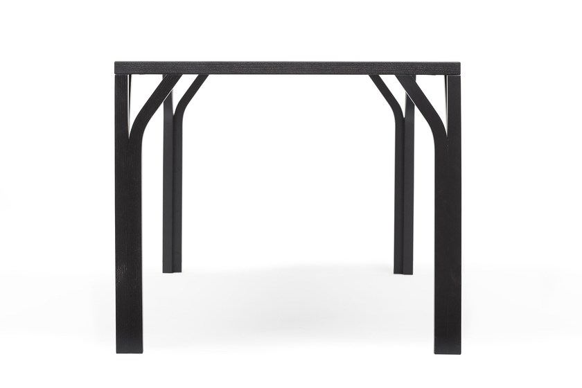 Square dining table BLOOM | Square table by TON